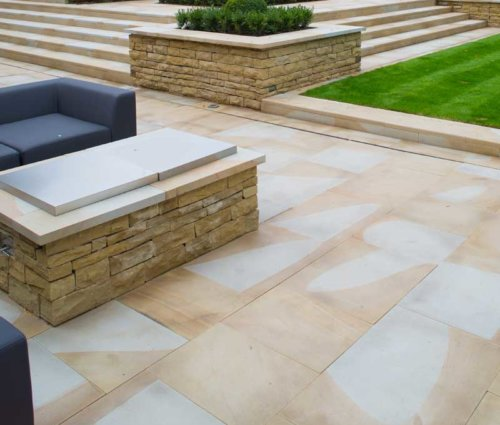 Diamond-Sawn-Paving