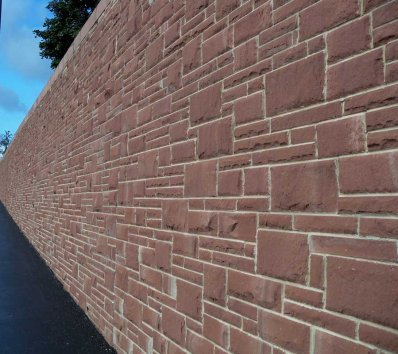 Random-Red-Sandstone-Walling